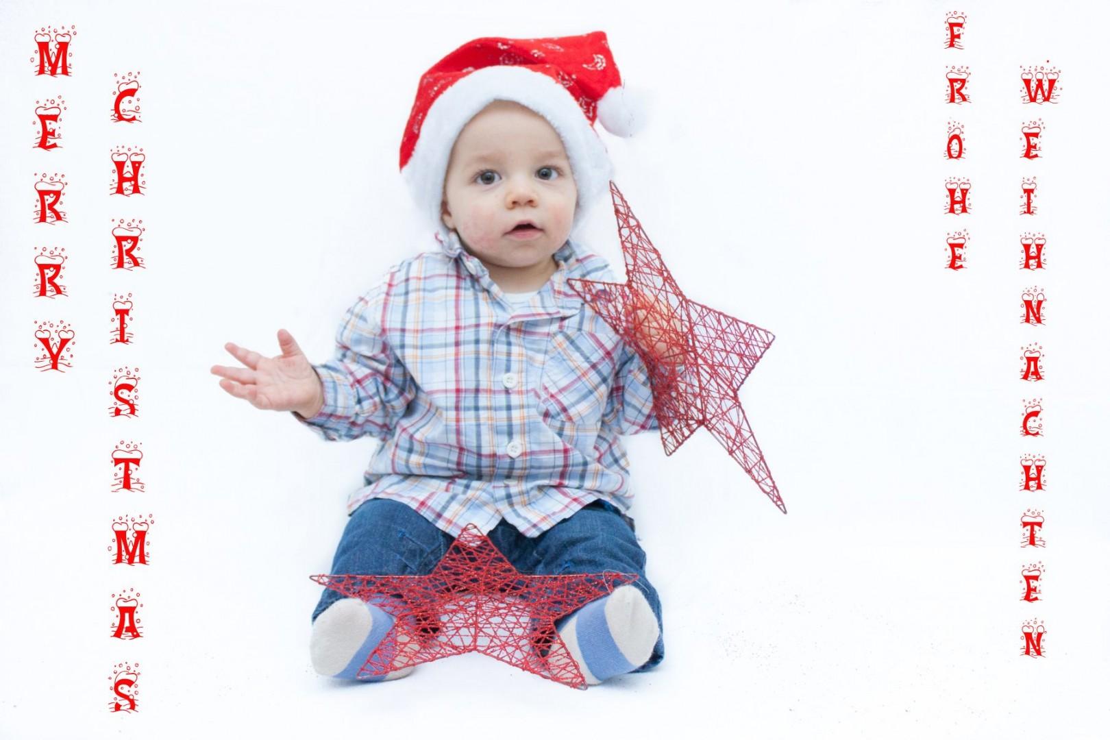 Yannik wünscht frohe Weihnachten