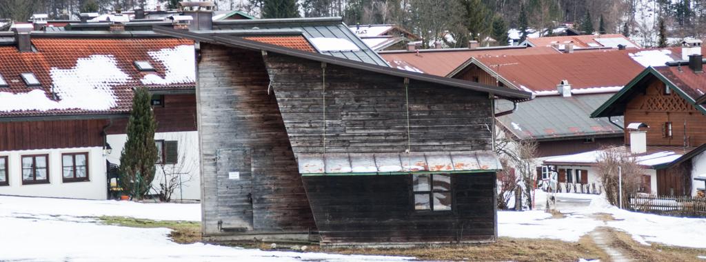 Reit im Winkl 2014: Talstation Schlepplift Entfelden