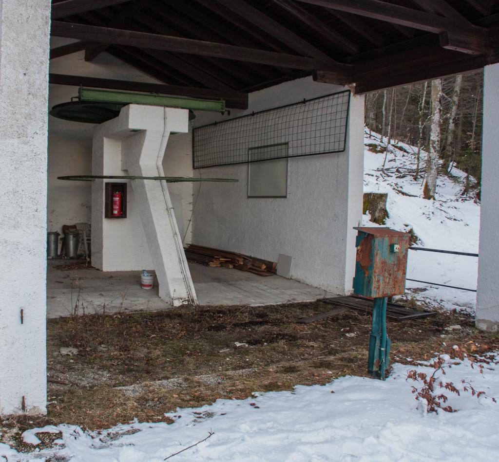 Reit im Winkl 2014: Walmberg-Bahn Bergstation