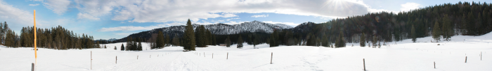 Reit im Winkl 2014: Panorama Hemmersuppenalm