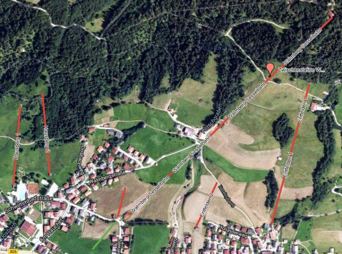 Ehemalige Skigebiete in Reit im Winkl