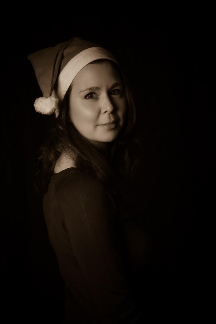 Weihnachtsshooting mit Claudi