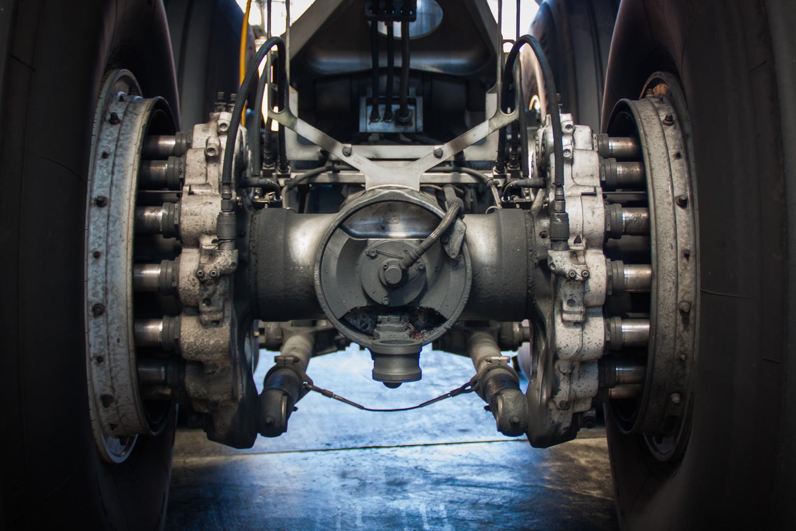 Bremsanlage eines Airbus