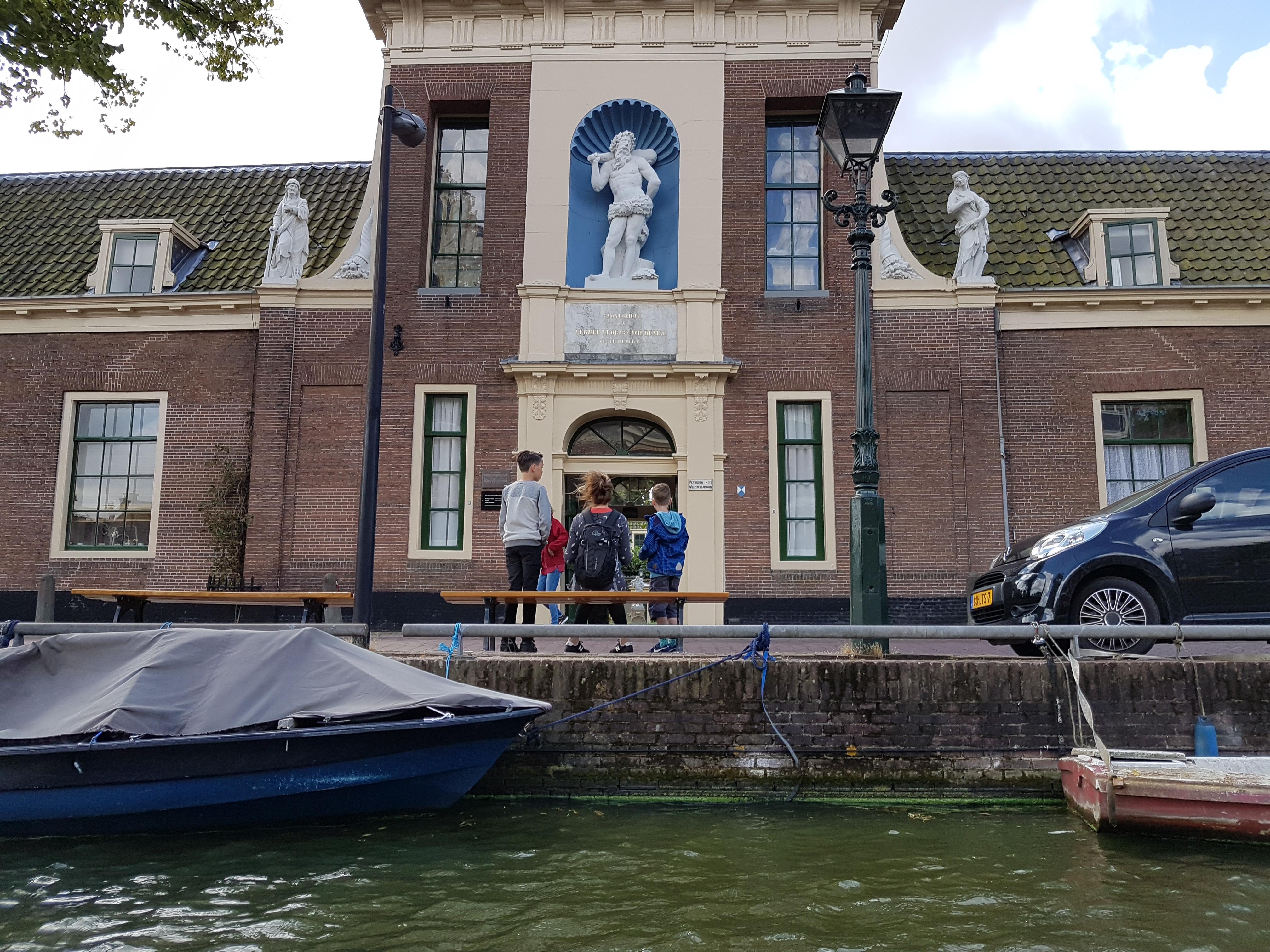Grachtenfahrt durch Alkmaar