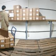 Lagerplatz innerhalb des Bunkers