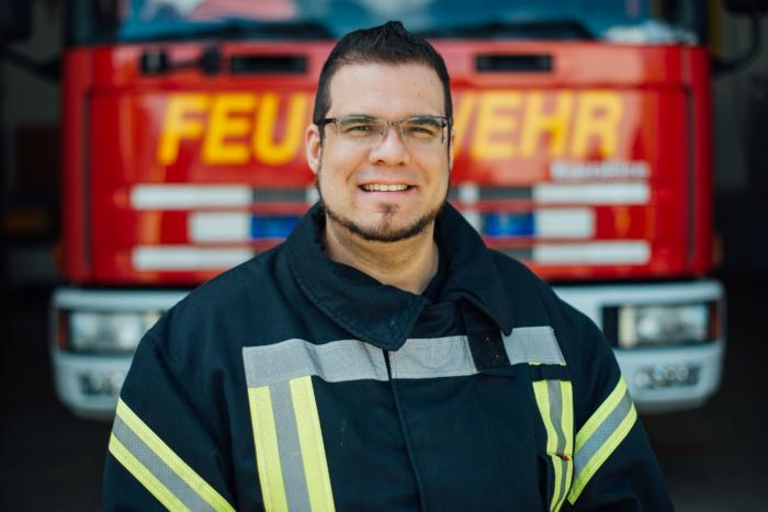Patrick Niebeling Feuerwehr